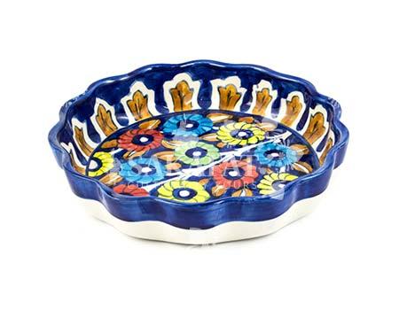 Blue Pottery Plates