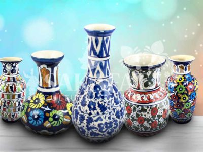 blue pottery Pakistan