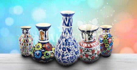 blue pottery Pakistan